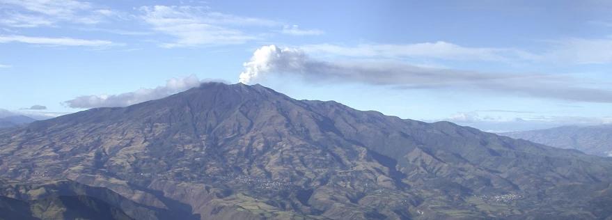 Resultado de imagen para Fotos el volcán Galeras entra en erupción